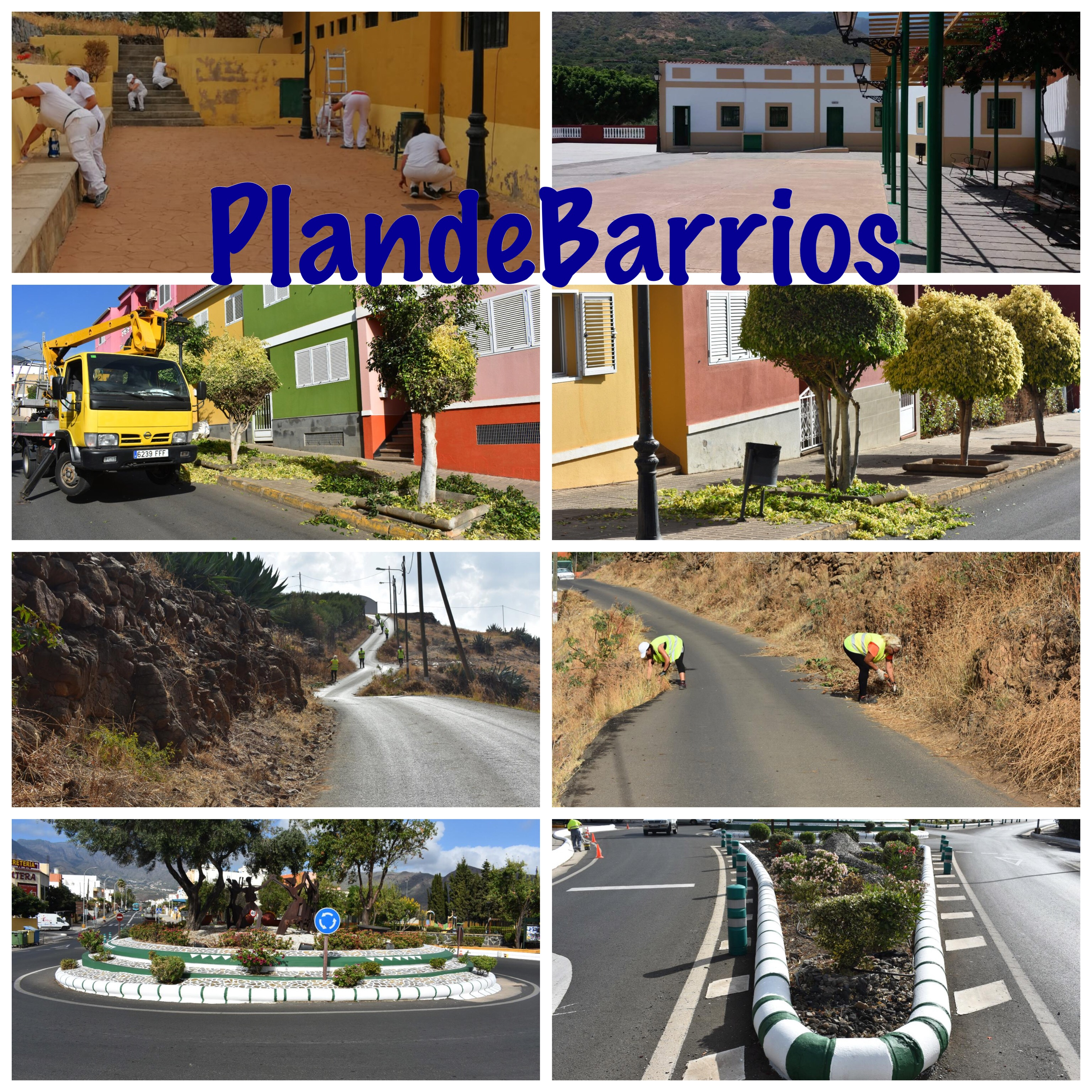 PLAN DE BARRIOS: ACTUANDO POR LOS BARRIOS